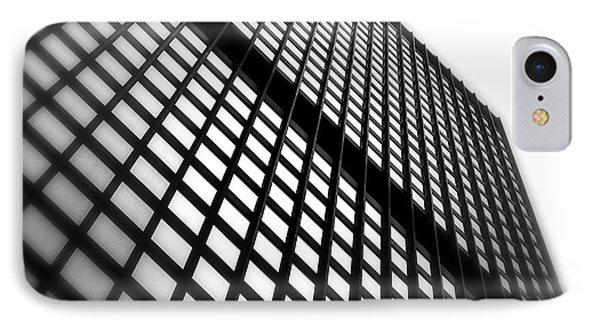 Skyscraper Facade Phone Case by Valentino Visentini