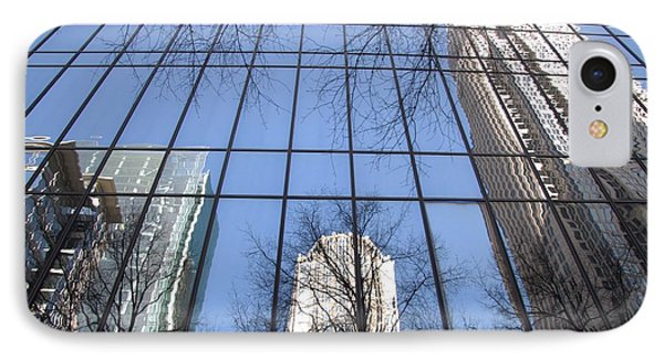 Skyscraper Reflections - Charlotte Nc IPhone Case by Shelia Kempf