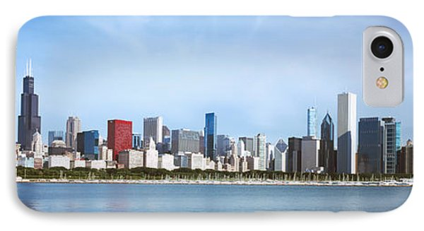 Skyscrapers At The Waterfront, Chicago IPhone Case by Panoramic Images
