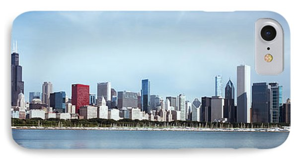 Skyscrapers At The Waterfront, Lake IPhone Case by Panoramic Images