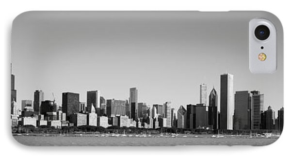 Skyscrapers At The Waterfront, Willis IPhone Case by Panoramic Images