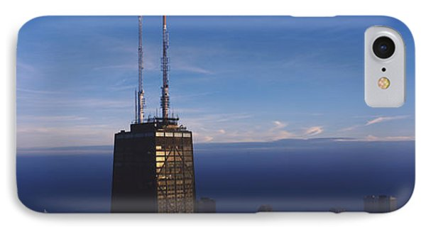 Skyscrapers In A City, Hancock IPhone Case by Panoramic Images