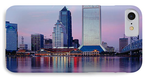 Skyscrapers On The Waterfront, St IPhone Case by Panoramic Images