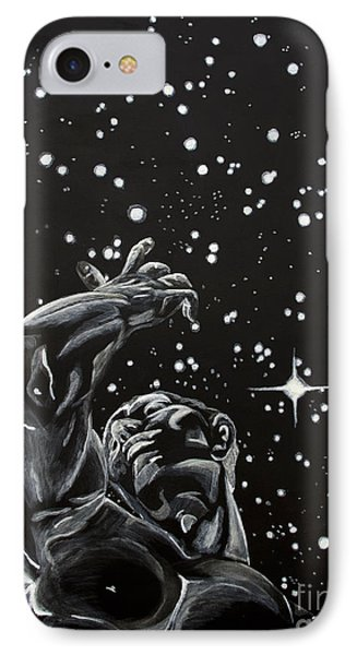 IPhone Case featuring the painting Skyward by Denise Deiloh