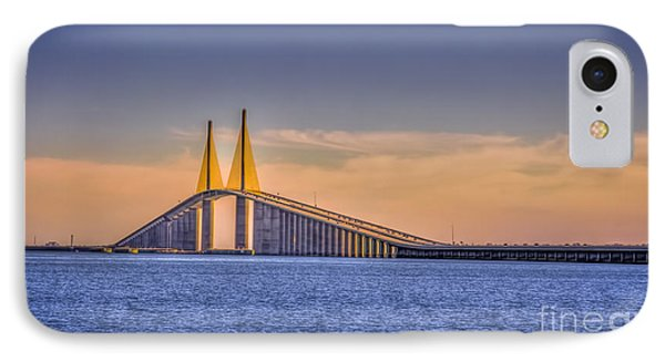 Skyway Bridge IPhone Case by Marvin Spates