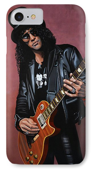 Musicians iPhone 7 Case - Slash by Paul Meijering