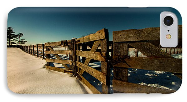 IPhone Case featuring the photograph Slate Run Gates by Haren Images- Kriss Haren