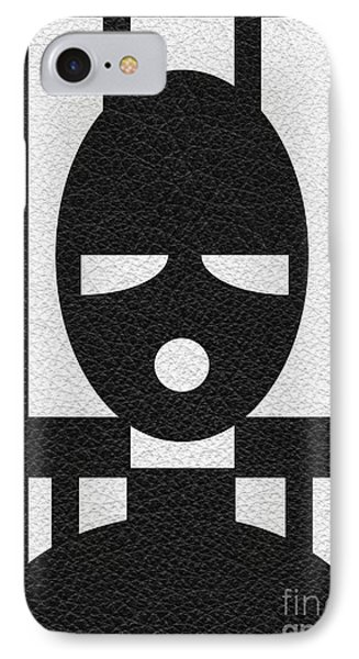Slave Mask IPhone Case by Roseanne Jones