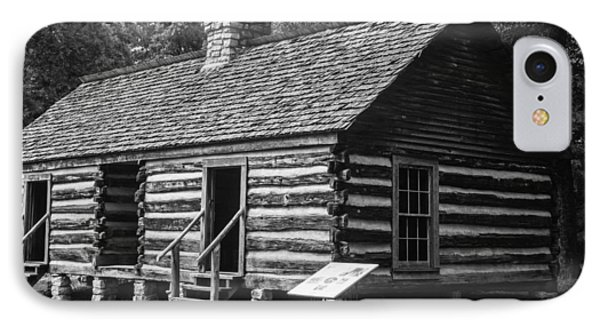 IPhone Case featuring the photograph Slave Quarters Belle Meade Plantation by Robert Hebert