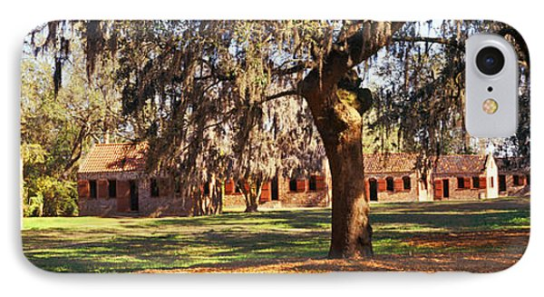 Slave Quarters, Boone Hall Plantation IPhone Case by Panoramic Images