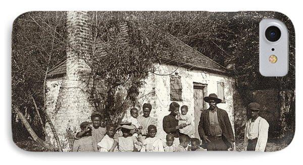 Slave Quarters, C1907 IPhone Case by Granger