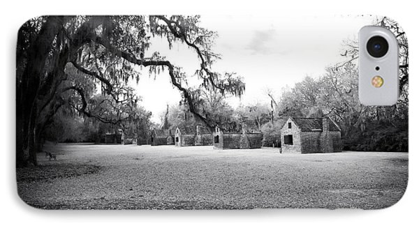 Slave Quarters Phone Case by John Rizzuto