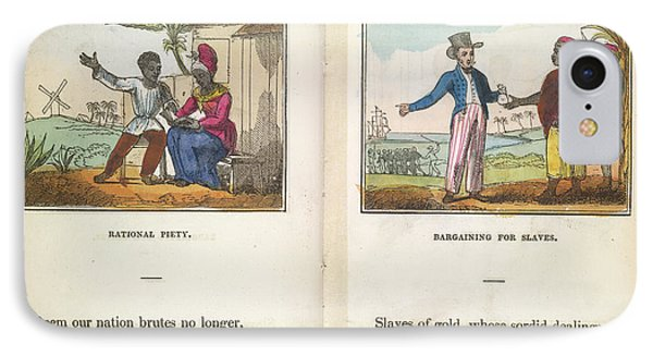 Slaves Being Traded IPhone Case by British Library