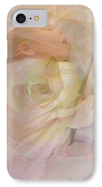 Sleep My Baby Phone Case by Shirley Sirois