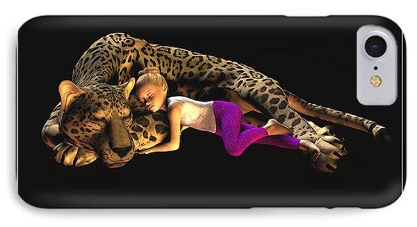 Sleep My Little One IPhone Case
