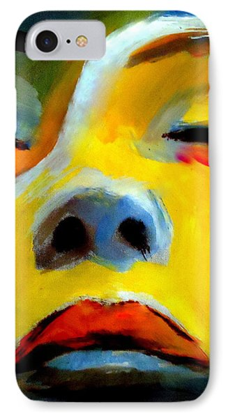 IPhone Case featuring the painting Sleeping Beauty by Helena Wierzbicki