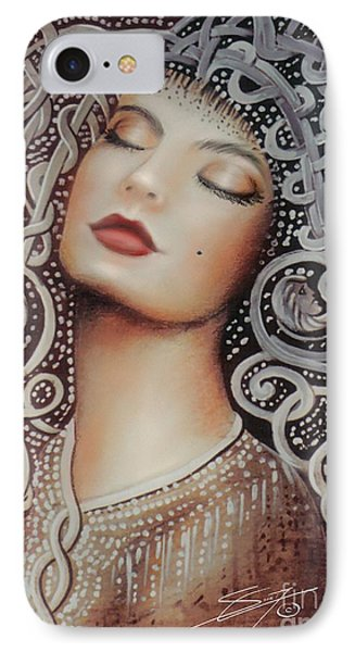 Sleeping Beauty IPhone Case by S G