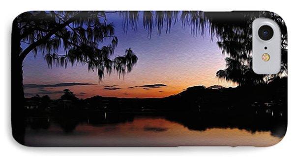 Sleeping Sun Phone Case by Kaye Menner