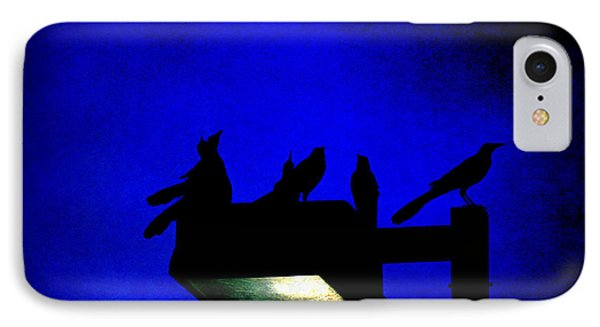 Sleepless At Midnight Phone Case by Trish Mistric