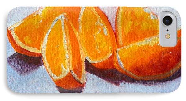 Sliced IPhone Case by Nancy Merkle