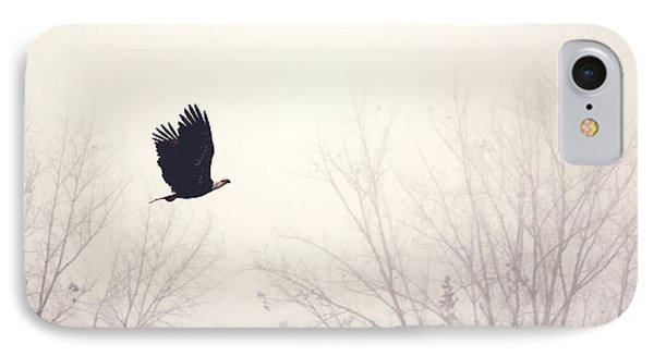 Slicing Through The Fog IPhone Case by Melanie Lankford Photography