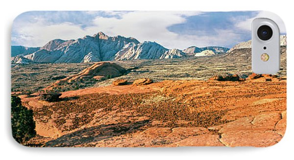 Slickrock, Snow Canyon State Park IPhone Case by Panoramic Images