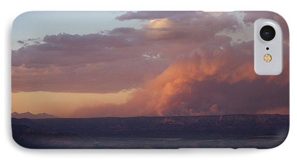 IPhone Case featuring the photograph Slide Fire Sunset by Ron Chilston