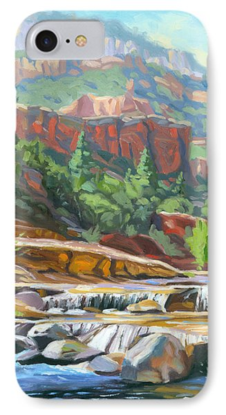 Slide Rock IPhone Case by Steve Simon