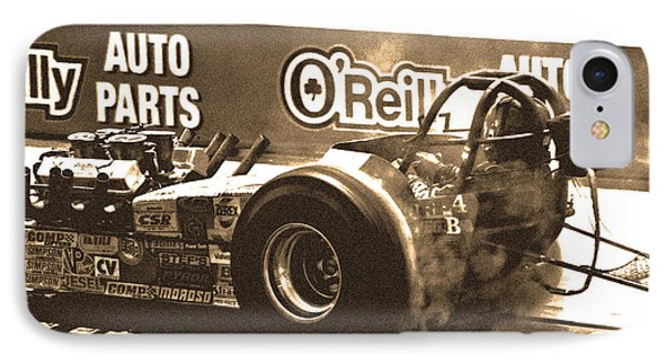 IPhone Case featuring the photograph Slingshot Dragster by Christopher McKenzie