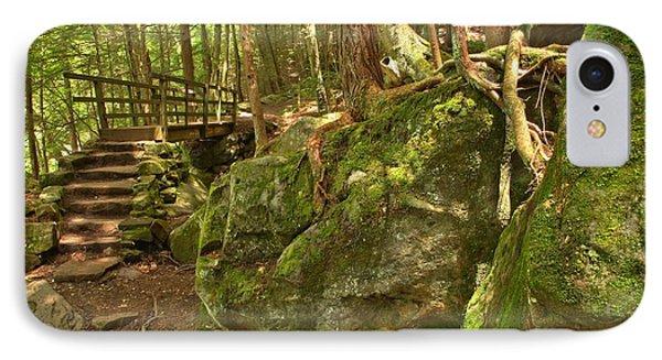 Slippery Rock Creek Bridge IPhone Case by Adam Jewell