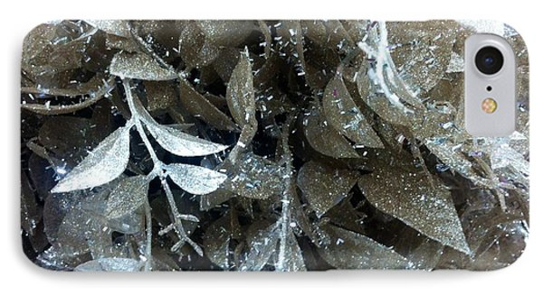 IPhone Case featuring the photograph Silver Leaves by Alohi Fujimoto