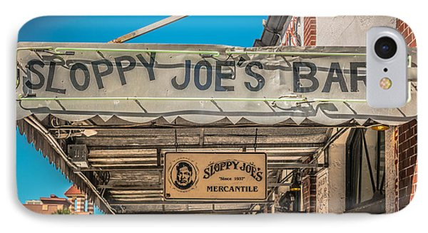 Sloppy Joe's Bar Canopy Key West - Hdr Style IPhone Case