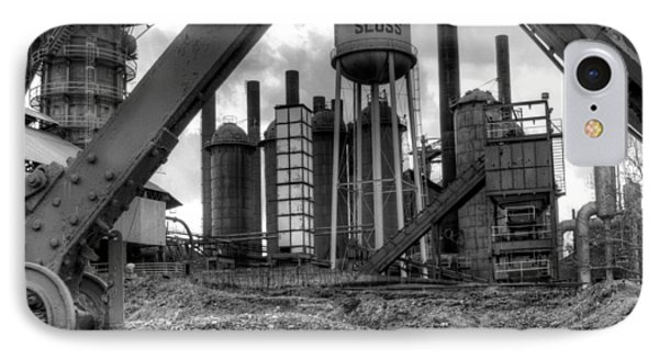 Sloss Furnace IPhone Case by Fred Baird