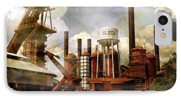 IPhone Case featuring the photograph Sloss Furnace II by Davina Washington