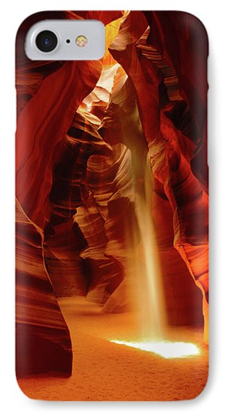 Slot Canyon, Upper Antelope Canyon IPhone Case by Michel Hersen
