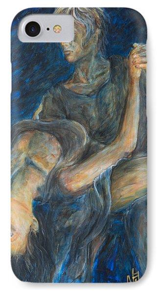 Slow Dancing V Phone Case by Nik Helbig