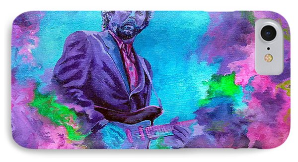 Slowhand IPhone Case by Kathleen Kelly Thompson