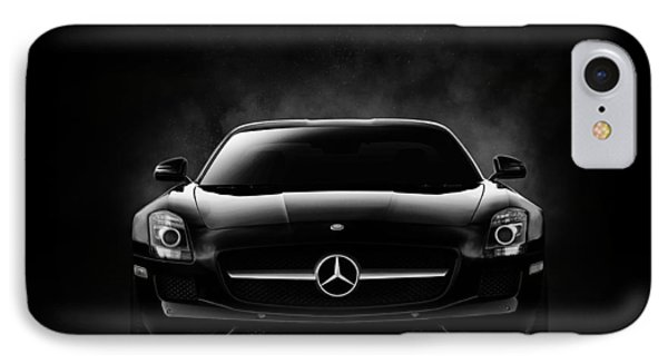Sls Black IPhone Case by Douglas Pittman