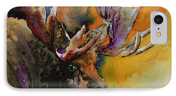 Sly Moose IPhone Case by Beverley Harper Tinsley