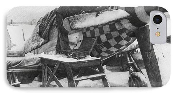 Slybird Winter Phone Case by Wade Meyers