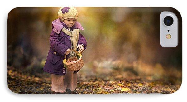 Small Autumn Fairy IPhone Case