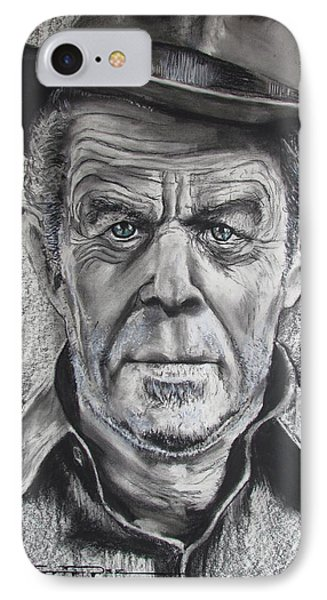 Small Change For Tom Waits IPhone Case by Eric Dee