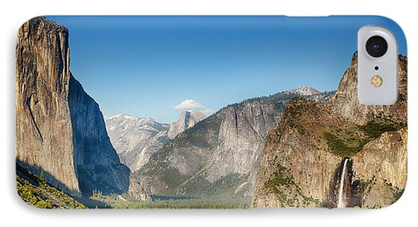Small Clouds Over The Half Dome Phone Case by Jane Rix