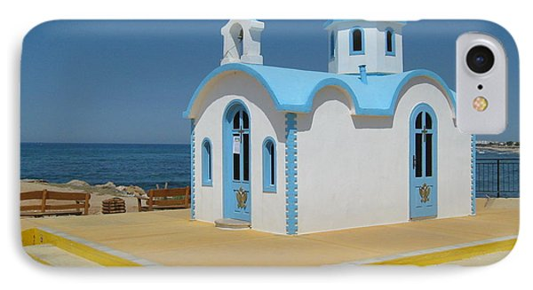 IPhone Case featuring the photograph Small Crete Church by David Grant