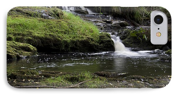 Small Falls On West Beaver Creek IPhone Case by Kathy McClure