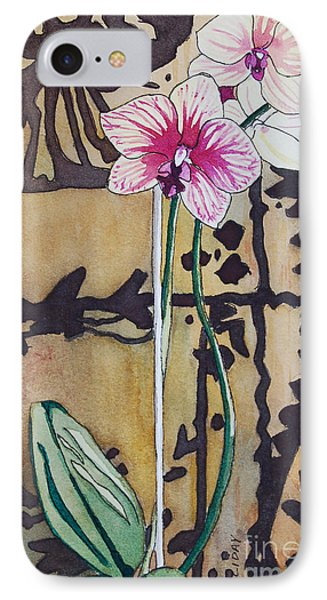 Small Orchids IPhone Case by Terry Holliday