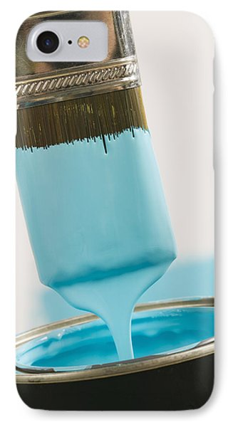 Small Paint Brush Dipped In Paint IPhone Case
