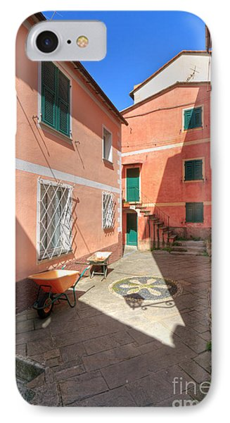 small square in Camogli IPhone Case
