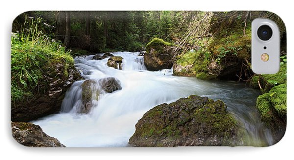 IPhone Case featuring the photograph Small Stream by Antonio Scarpi