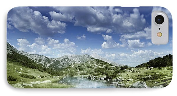 Small Stream In The Mountains Of Pirin Phone Case by Evgeny Kuklev